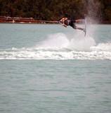 wake board trick poster
