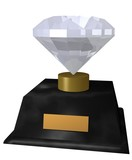 diamond award poster