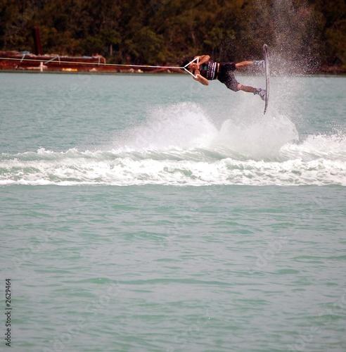 wake board trick