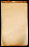 vintage notepad paper poster