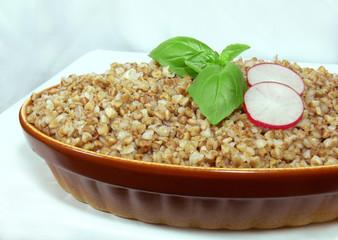 porridge barley groats and buckwheat 2