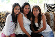 mother and teenaged daughters