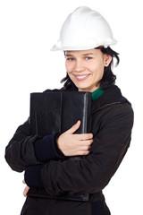 attractive student of engineering
