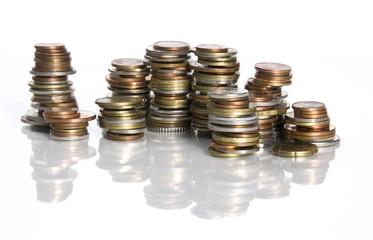 empilements de monnaie