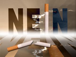 zigarette - nein