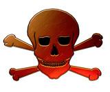 poison symbol poster