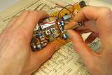 repair of an old radio receiver 7. poster