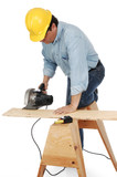 contractor at work poster