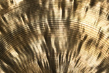 shiny golden metallic texture poster