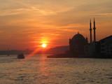 sunset in bosporus - Fine Art prints