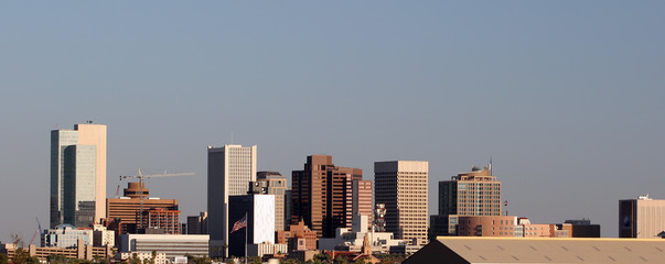 phoenix downtown panorama