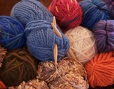 yarns to knit poster