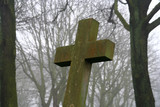 moss grown cross poster