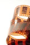 film negative poster