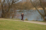 jogging am see poster