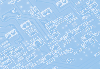 circuit board background for text