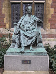 william pitt statue