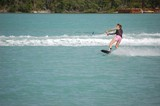 teen girl wake boarder poster