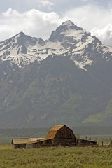 barn at grand teton