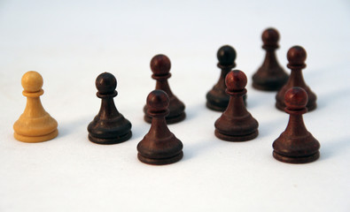 pawns odd one out