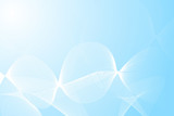 abstract gently blue background poster