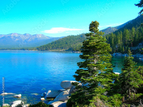 morning on lake tahoe