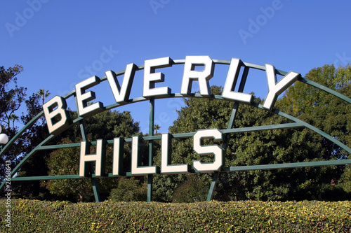 Staande foto Los Angeles beverly hills sign