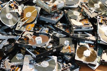 broken hard drives