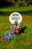 drive safely memorial poster