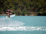 wake board stunt poster