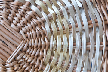 background straw a circle