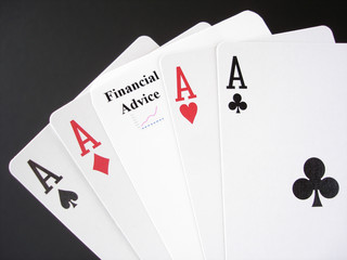 financial advice gamble