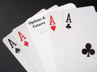 gamble on options and futures markets