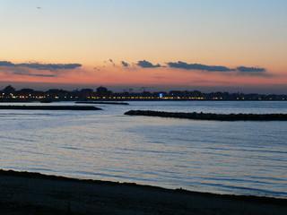 tramonto in costa