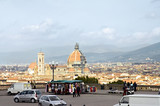 scenic view of florence city poster