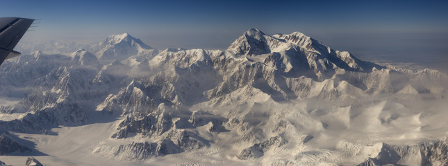 mt denali and mt mooses tooth