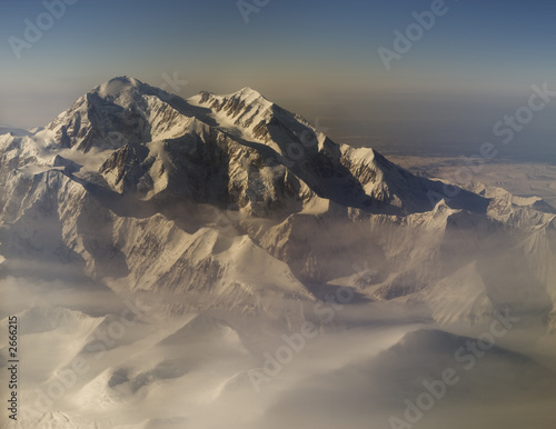 canvas print picture mt. denali