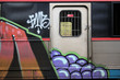 Quadro graffiti train_01
