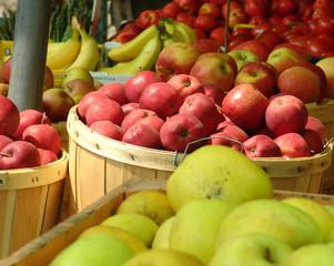 assorted fruit baskets