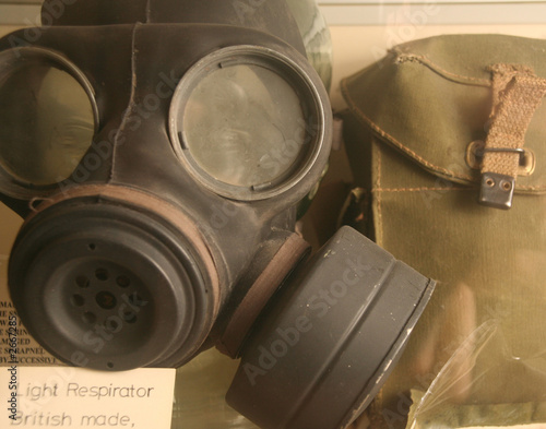 gas mask and bag