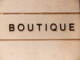 boutique. poster