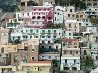 bunte häuser in italian