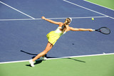 Fototapety woman playing tennis