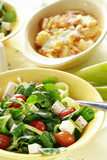 field salad - healthy food poster
