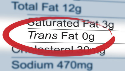 trans fat 0g
