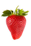Fototapety red strawberry isolated on white