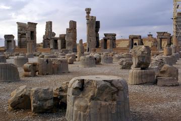 ruins in persepolis