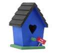 birdhouse for sale poster