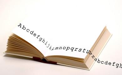libro e lettere