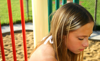 sad young girl